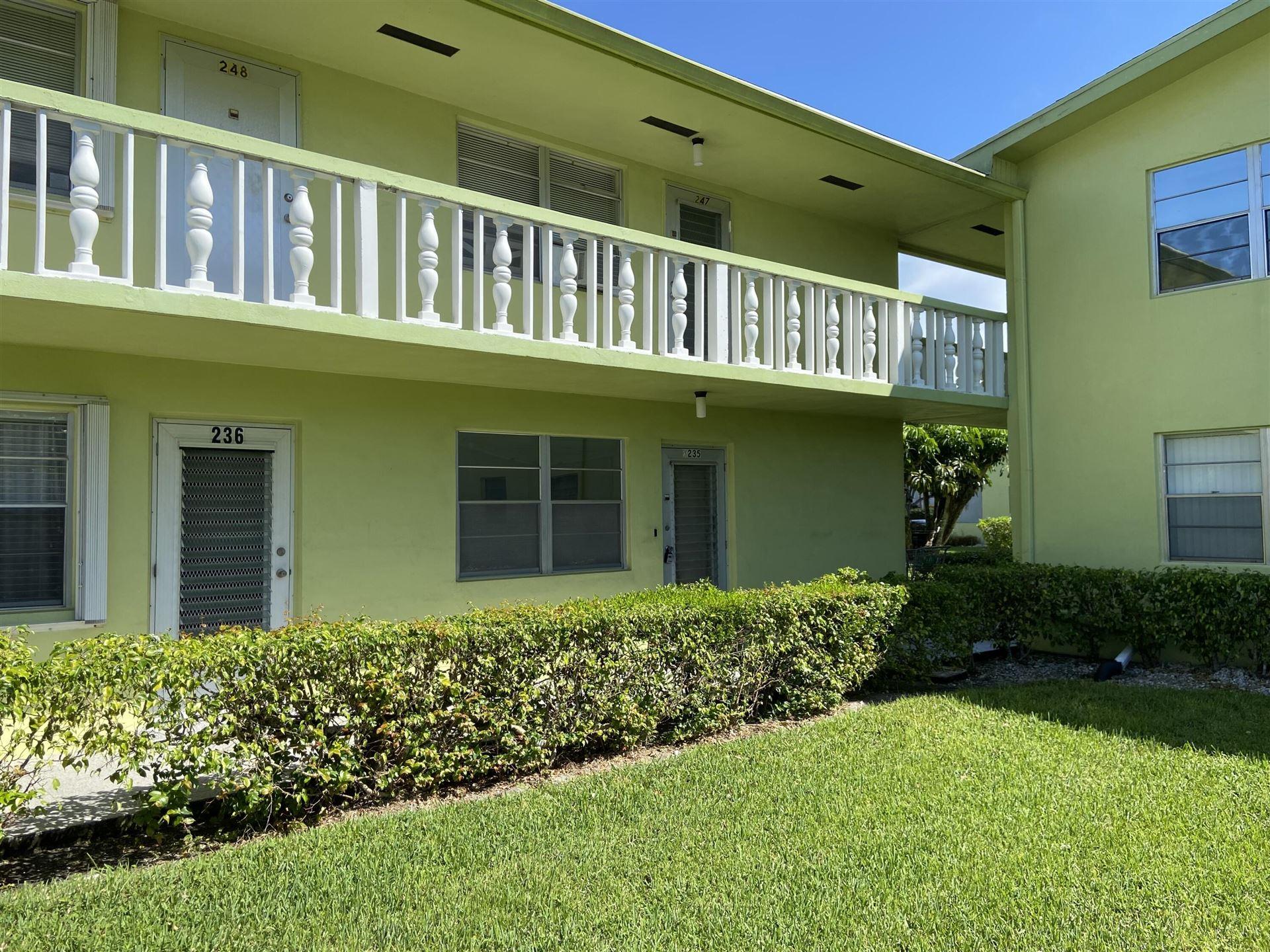 235 Windsor K, West Palm Beach, FL 33417 - MLS#: RX-10751328