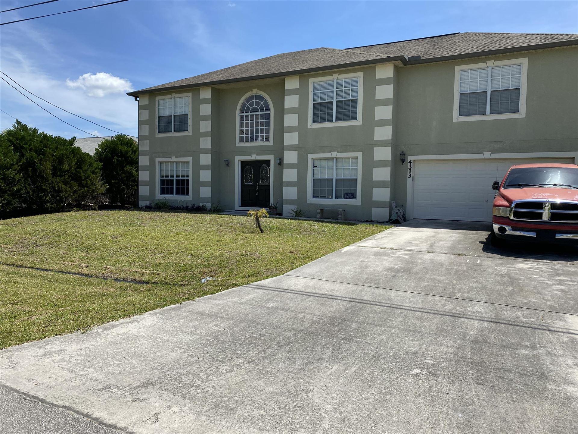 4313 SW Gagnon Road, Port Saint Lucie, FL 34953 - #: RX-10621329