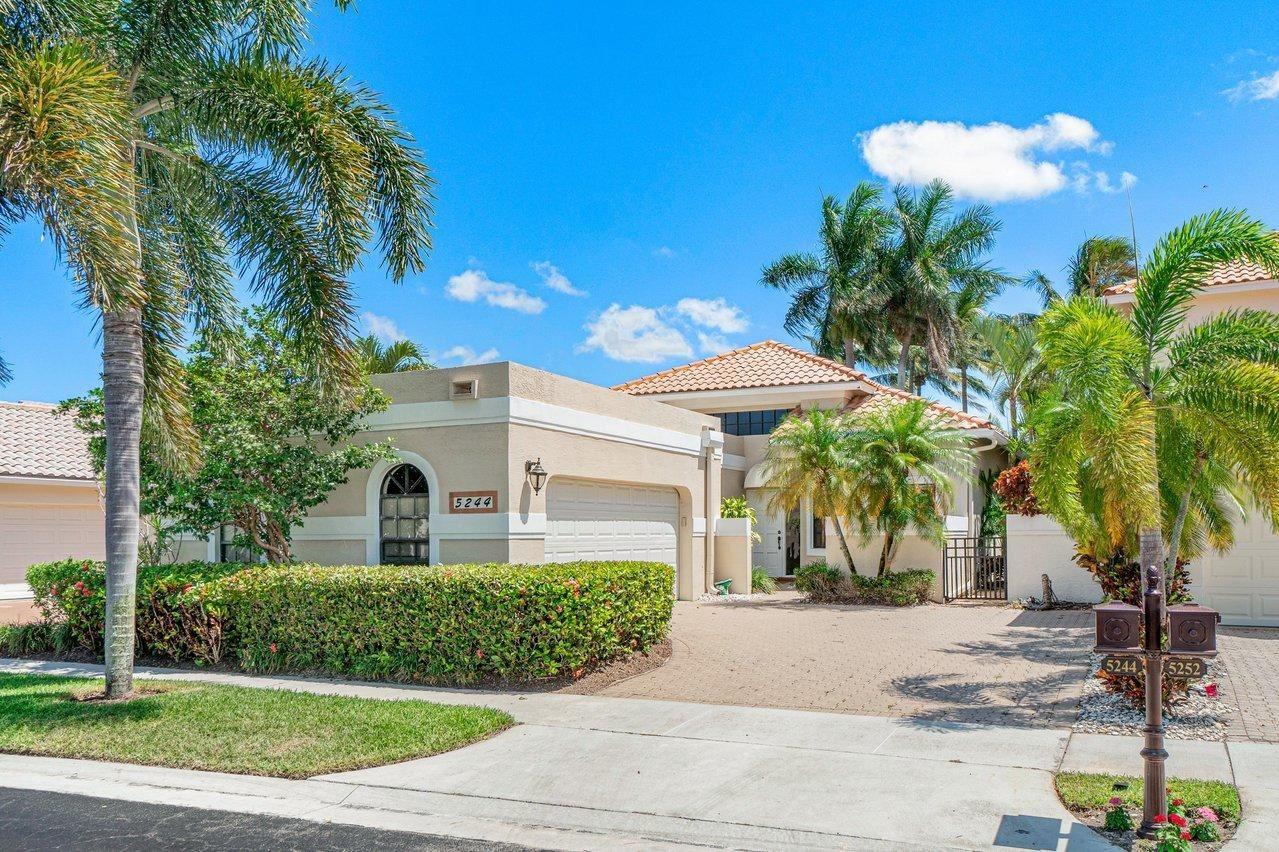 5244 Via De Amalfi Drive, Boca Raton, FL 33496 - #: RX-10723330