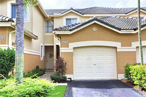 Photo of 2212 Ensenada Terrace #2212, Weston, FL 33327 (MLS # RX-10666331)