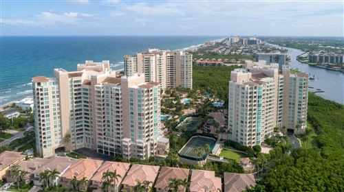 Photo of 3700 S Ocean Boulevard #307, Highland Beach, FL 33487 (MLS # RX-10616332)