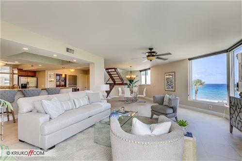 Photo of 2575 S Ocean Boulevard #212s, Highland Beach, FL 33487 (MLS # RX-10630332)