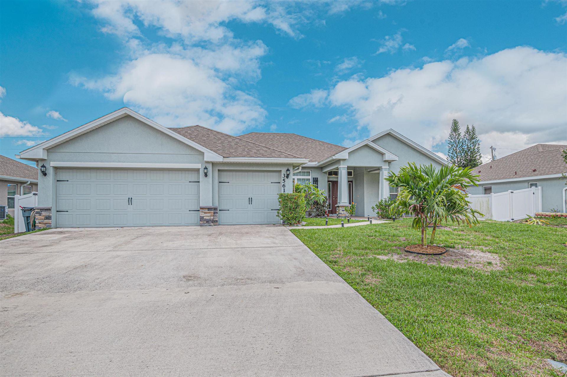 3561 SW Princeton Street, Port Saint Lucie, FL 34953 - MLS#: RX-10723332