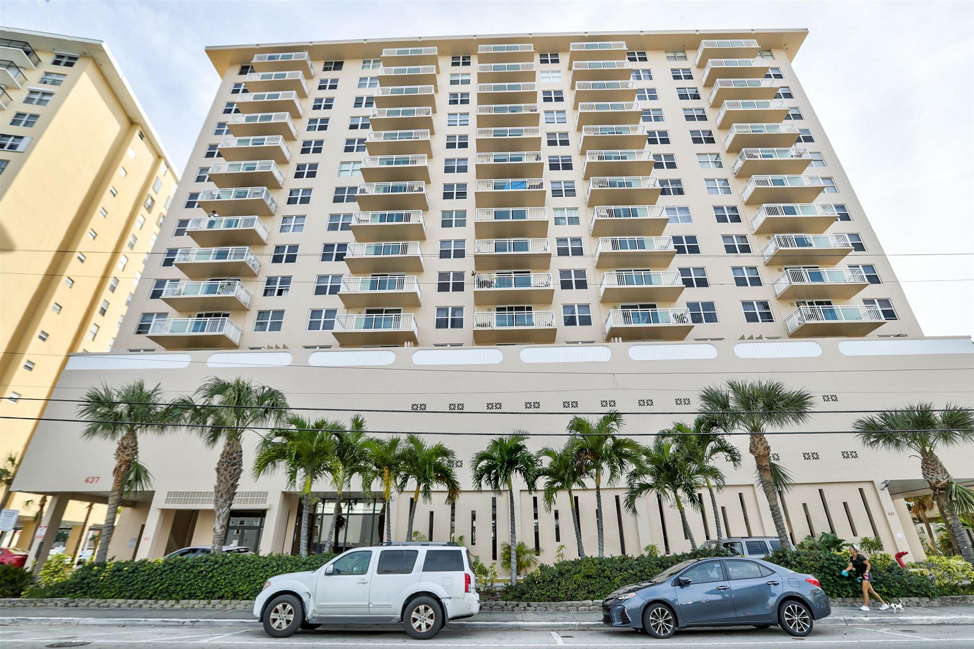 437 Golden Isles Drive #4c, Hallandale Beach, FL 33009 - MLS#: RX-10621333