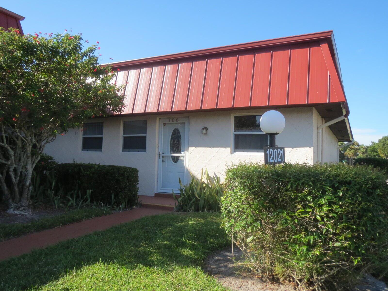 12021 W Greenway Drive #108, Royal Palm Beach, FL 33411 - #: RX-10750335