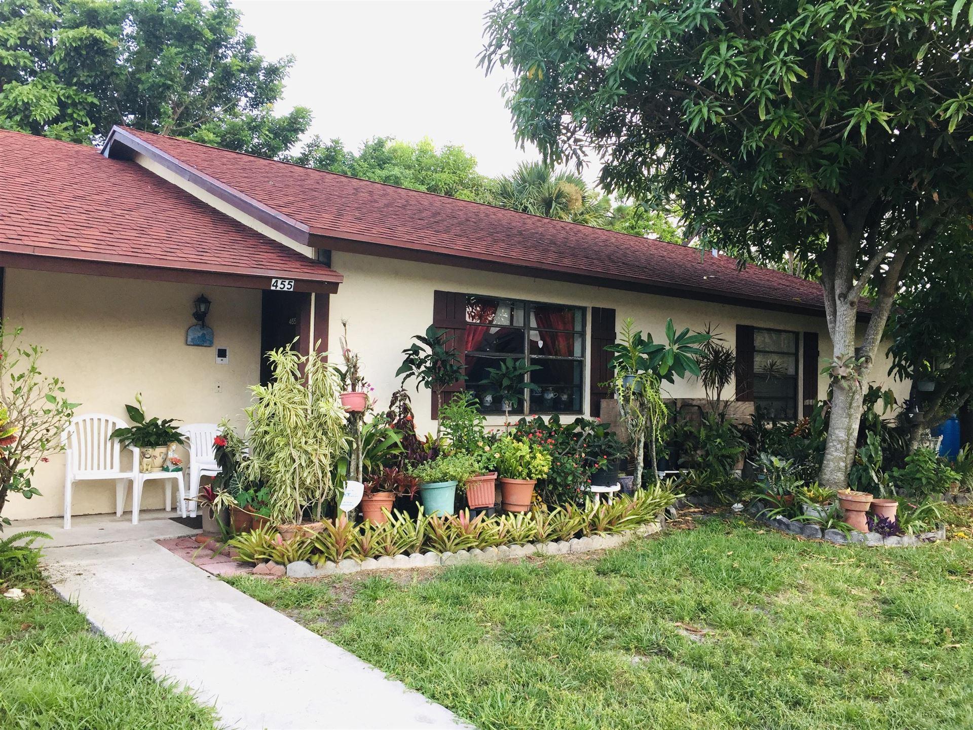 455 Glenwood Drive, West Palm Beach, FL 33415 - #: RX-10635336