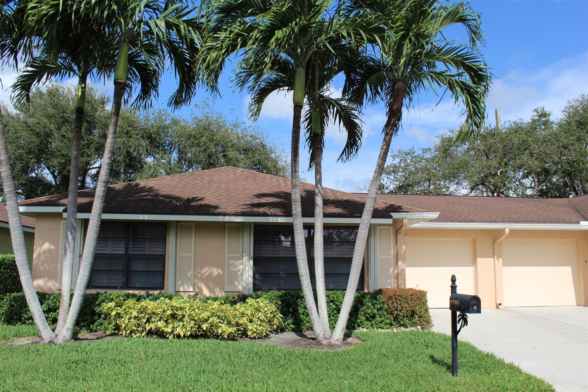 Photo of 9785 Tabebuia Tree Drive #A, Boynton Beach, FL 33436 (MLS # RX-10670338)