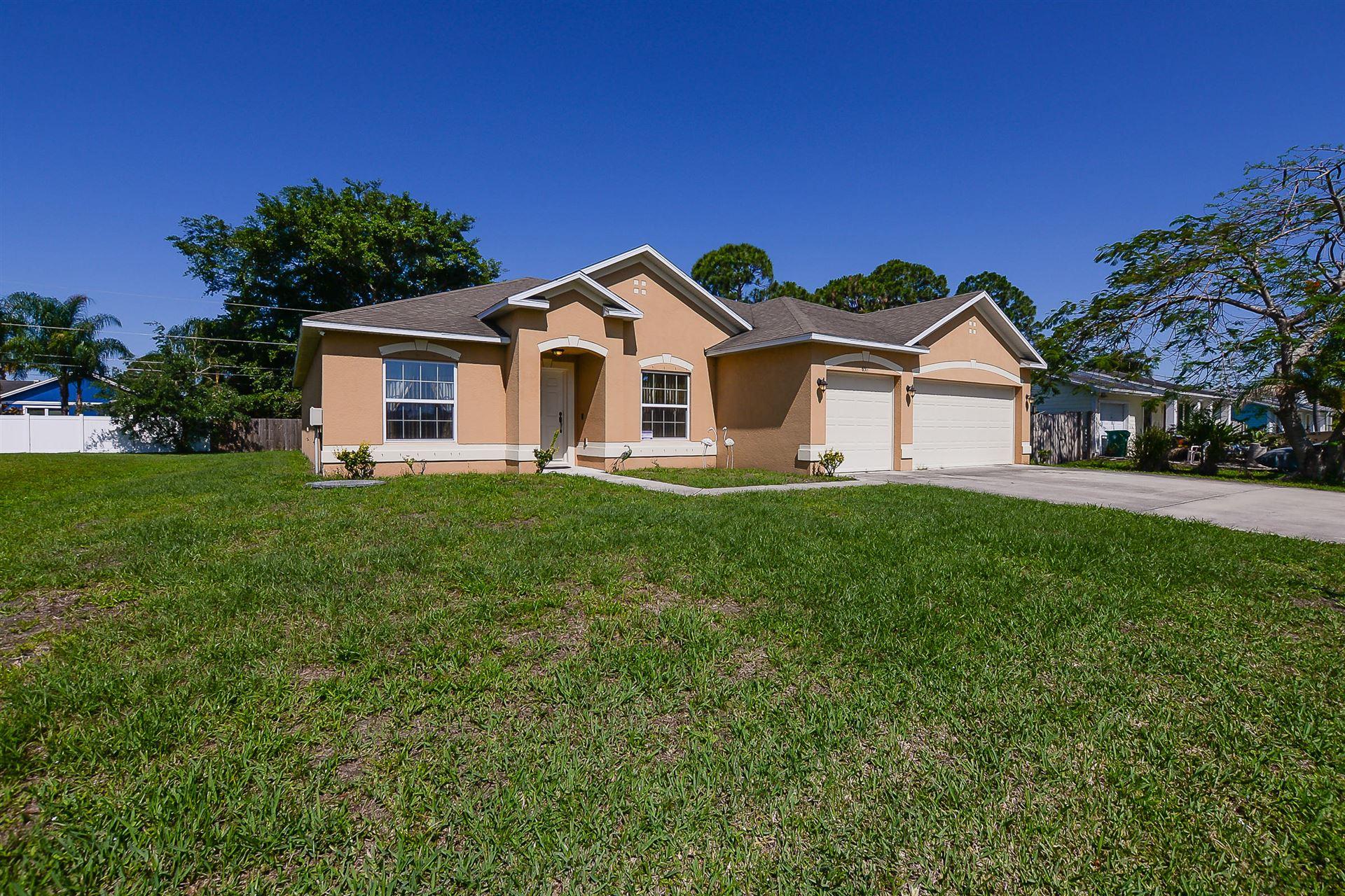 658 SW Curry Street, Port Saint Lucie, FL 34983 - #: RX-10735338