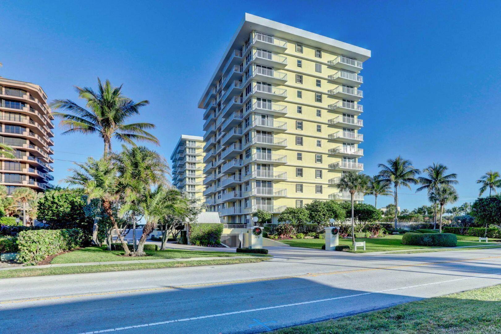 Photo for 500 Ocean Drive #W-3-C, Juno Beach, FL 33408 (MLS # RX-10742339)