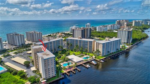 Photo of 3212 S Ocean Boulevard #706-A, Highland Beach, FL 33487 (MLS # RX-10634340)