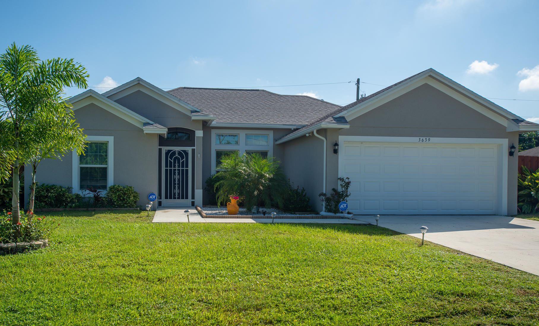 3639 SW Ballweg Street, Port Saint Lucie, FL 34953 - #: RX-10664340