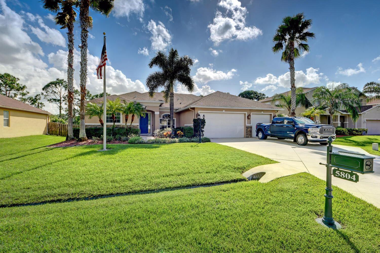 5804 NW Breezy Brook Court, Port Saint Lucie, FL 34986 - #: RX-10668342