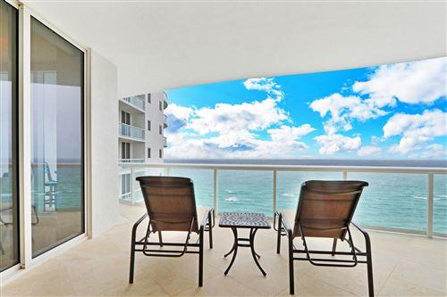 Photo of 4600 N Ocean Drive #1603, Singer Island, FL 33404 (MLS # RX-10729344)