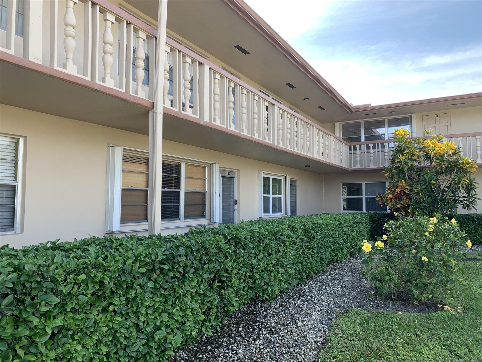 187 Northampton J, West Palm Beach, FL 33417 - MLS#: RX-10691344