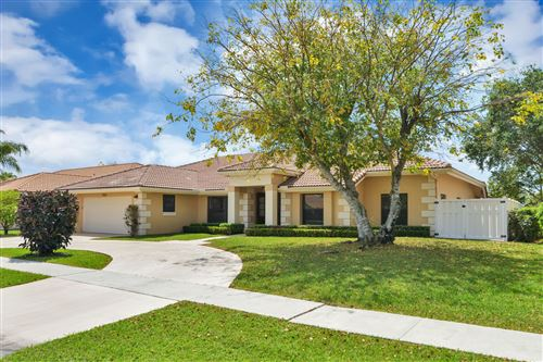Photo of 11223 Island Lakes Lane, Boca Raton, FL 33498 (MLS # RX-10614347)