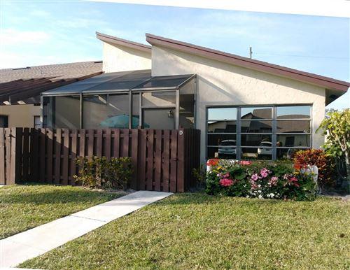 Foto de inmueble con direccion 13929 Nesting Way #D Delray Beach FL 33484 con MLS RX-10607349