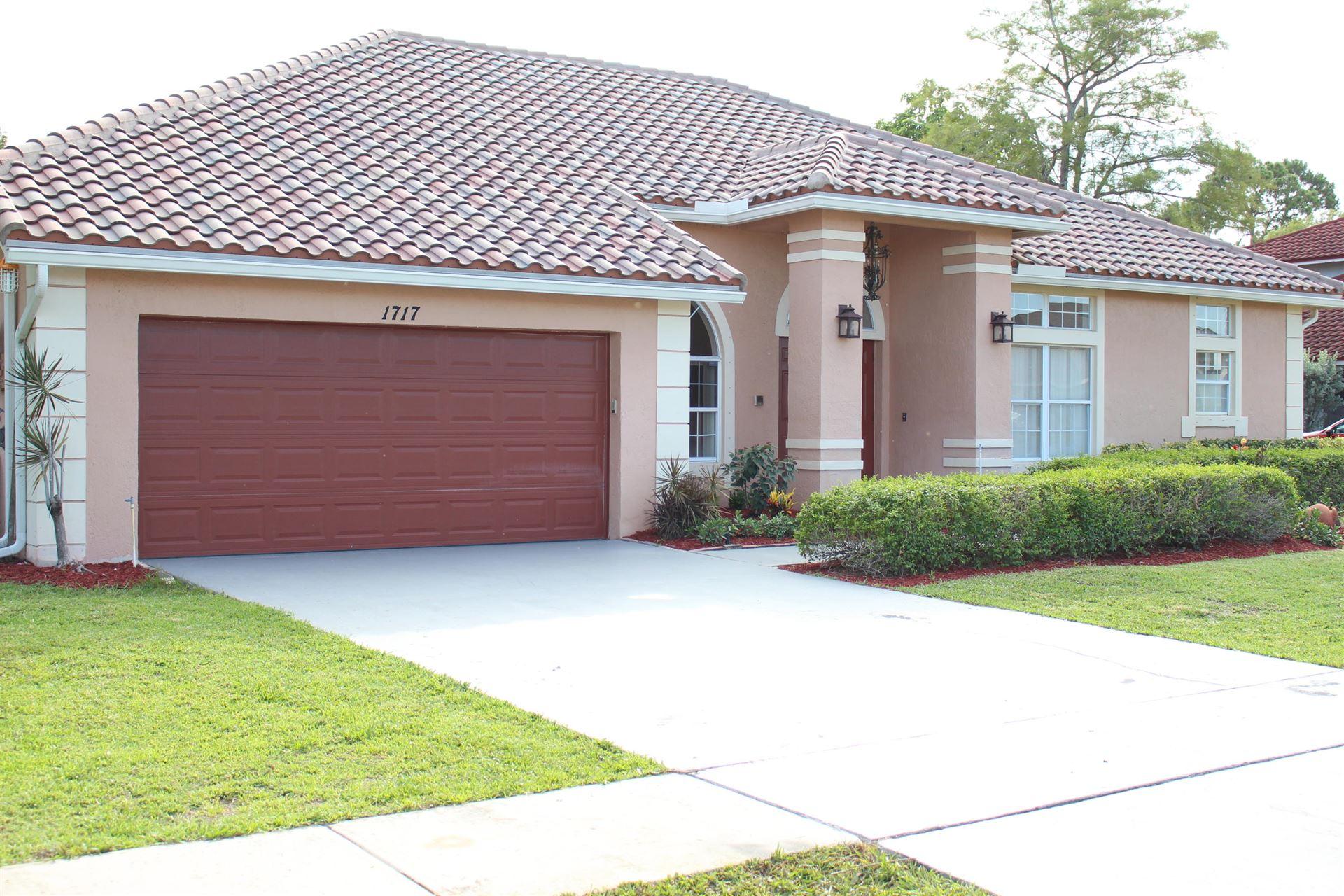 1717 Wiltshire Village Drive, Wellington, FL 33414 - MLS#: RX-10721349