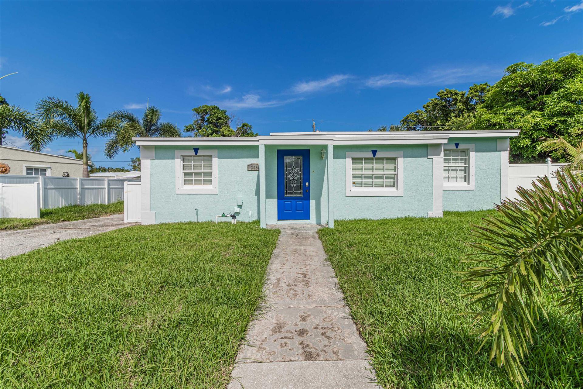 309 Roosevelt Avenue, Delray Beach, FL 33444 - MLS#: RX-10739349