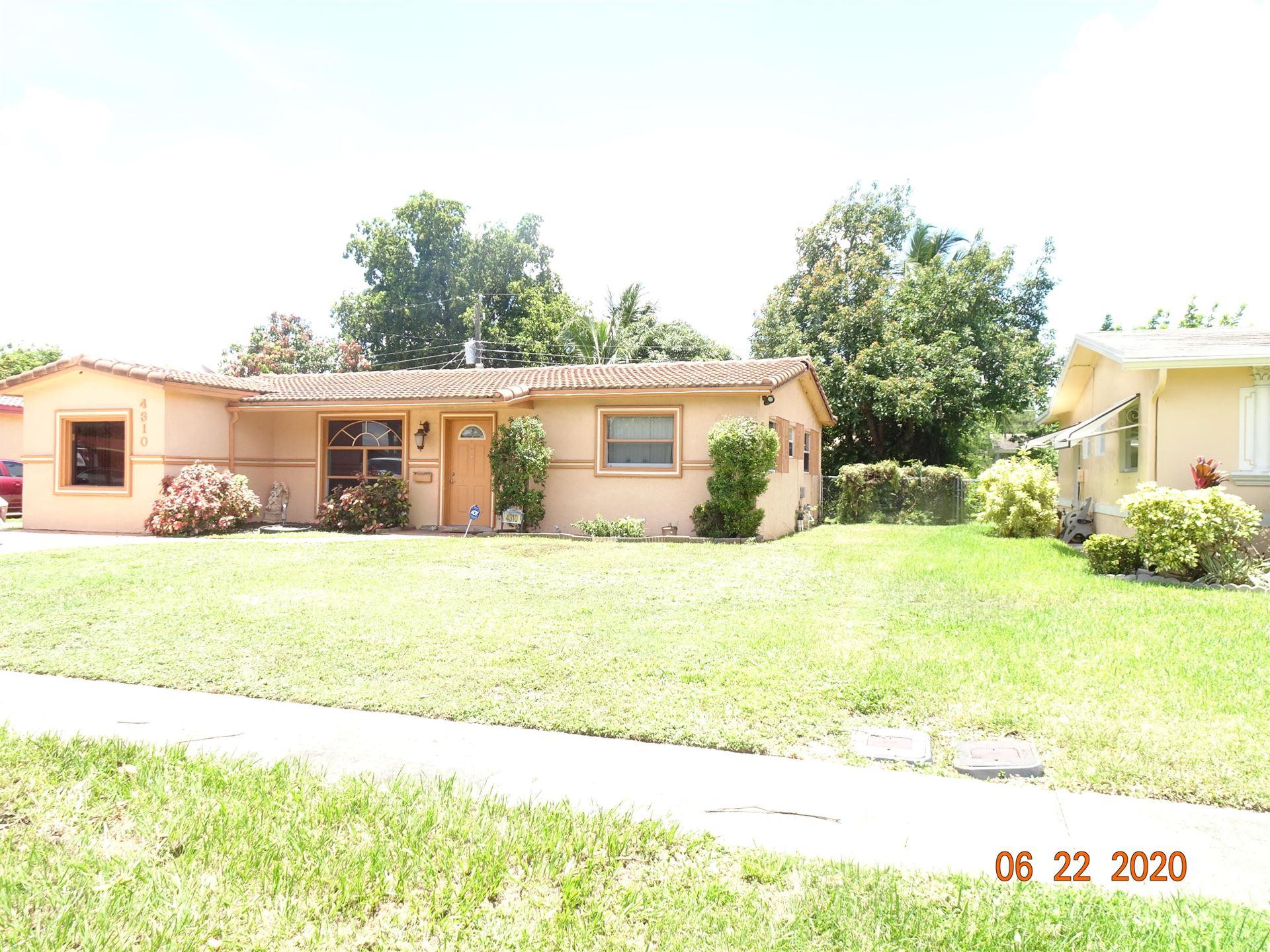 4310 NW 22 Street, Lauderhill, FL 33313 - MLS#: RX-10748351