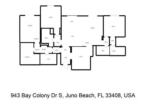 Tiny photo for 943 S Bay Colony Drive S, Juno Beach, FL 33408 (MLS # RX-10716355)