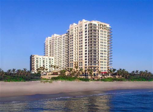 Photo of 3800 N Ocean Drive #415, Singer Island, FL 33404 (MLS # RX-10752355)