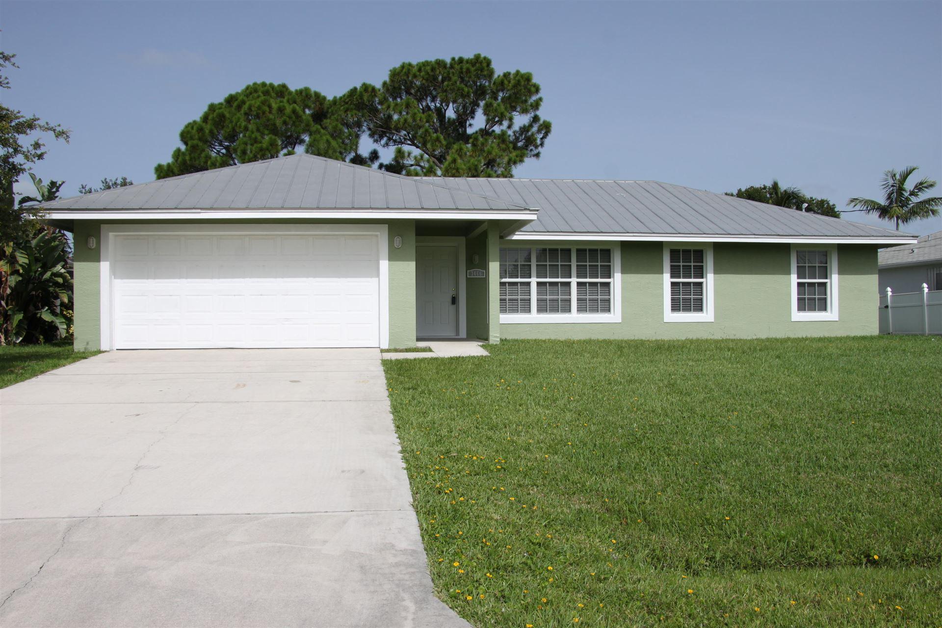 3466 SW Pluto Street, Port Saint Lucie, FL 34953 - #: RX-10634355