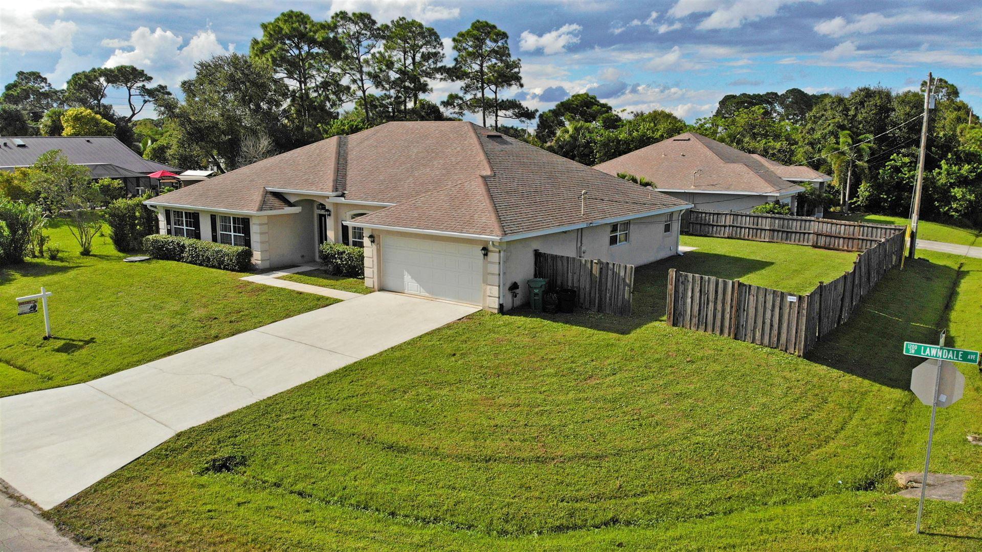 1265 SW Lawndale Avenue, Port Saint Lucie, FL 34953 - #: RX-10664355