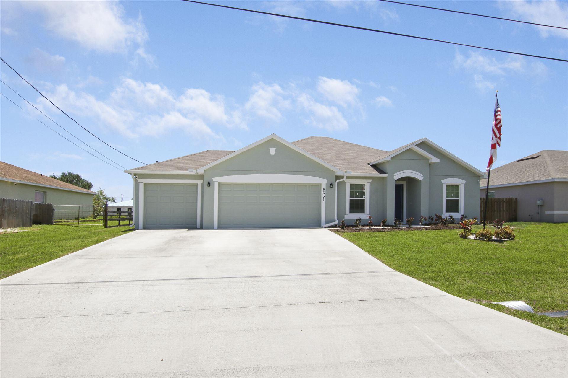 4631 SW Athena Drive, Port Saint Lucie, FL 34953 - #: RX-10723355
