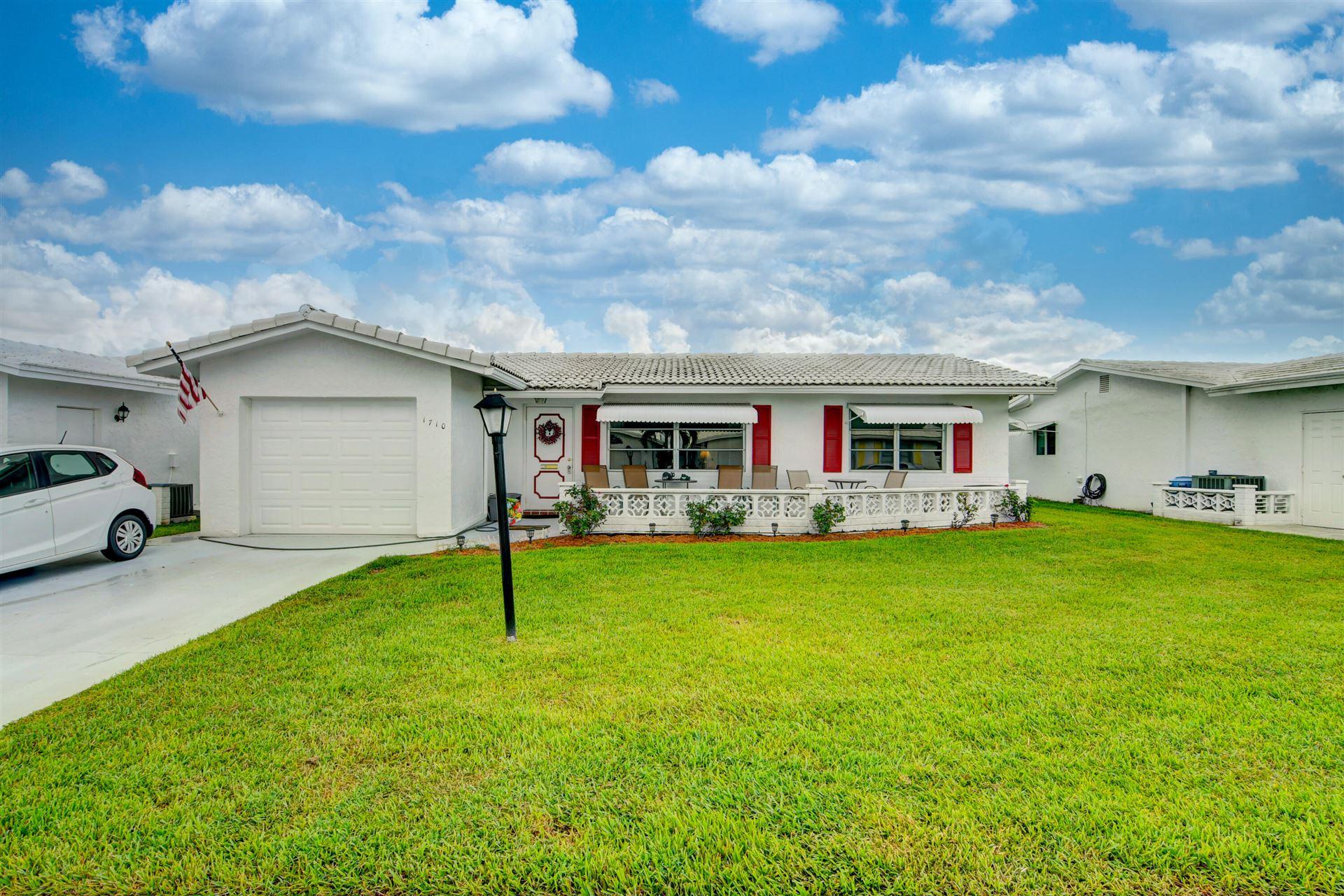 1710 SW 20th Street, Boynton Beach, FL 33426 - MLS#: RX-10744356