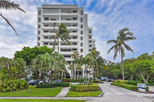 Photo of 3450 S Ocean Boulevard #801, Highland Beach, FL 33487 (MLS # RX-10702358)