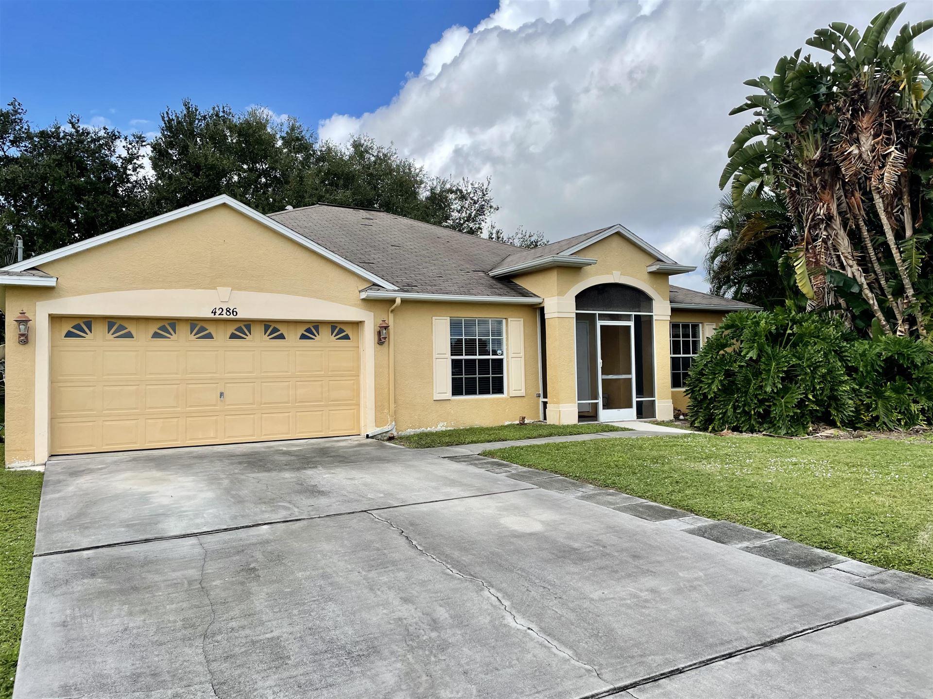 4286 SW Ragen Street, Port Saint Lucie, FL 34953 - #: RX-10671358