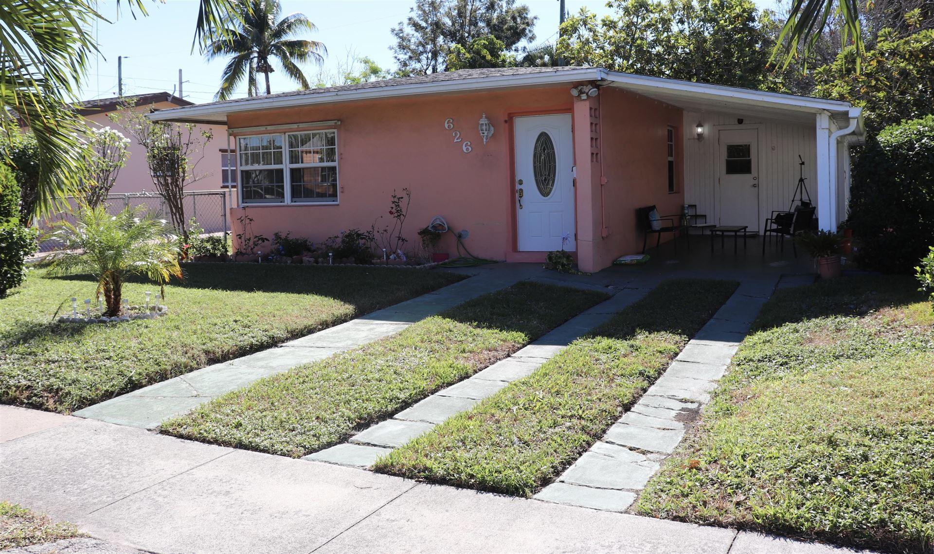 626 Hunter Street, West Palm Beach, FL 33405 - #: RX-10679360