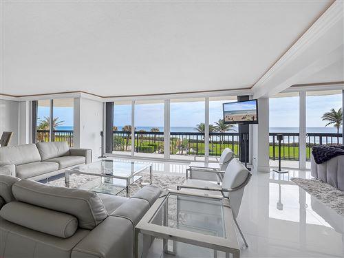 Photo of 3440 S Ocean Boulevard #303s, Palm Beach, FL 33480 (MLS # RX-10683361)