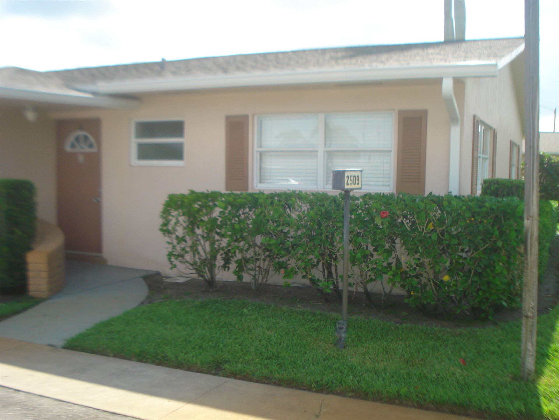 2509 W Dudley Drive #A, West Palm Beach, FL 33415 - MLS#: RX-10730361