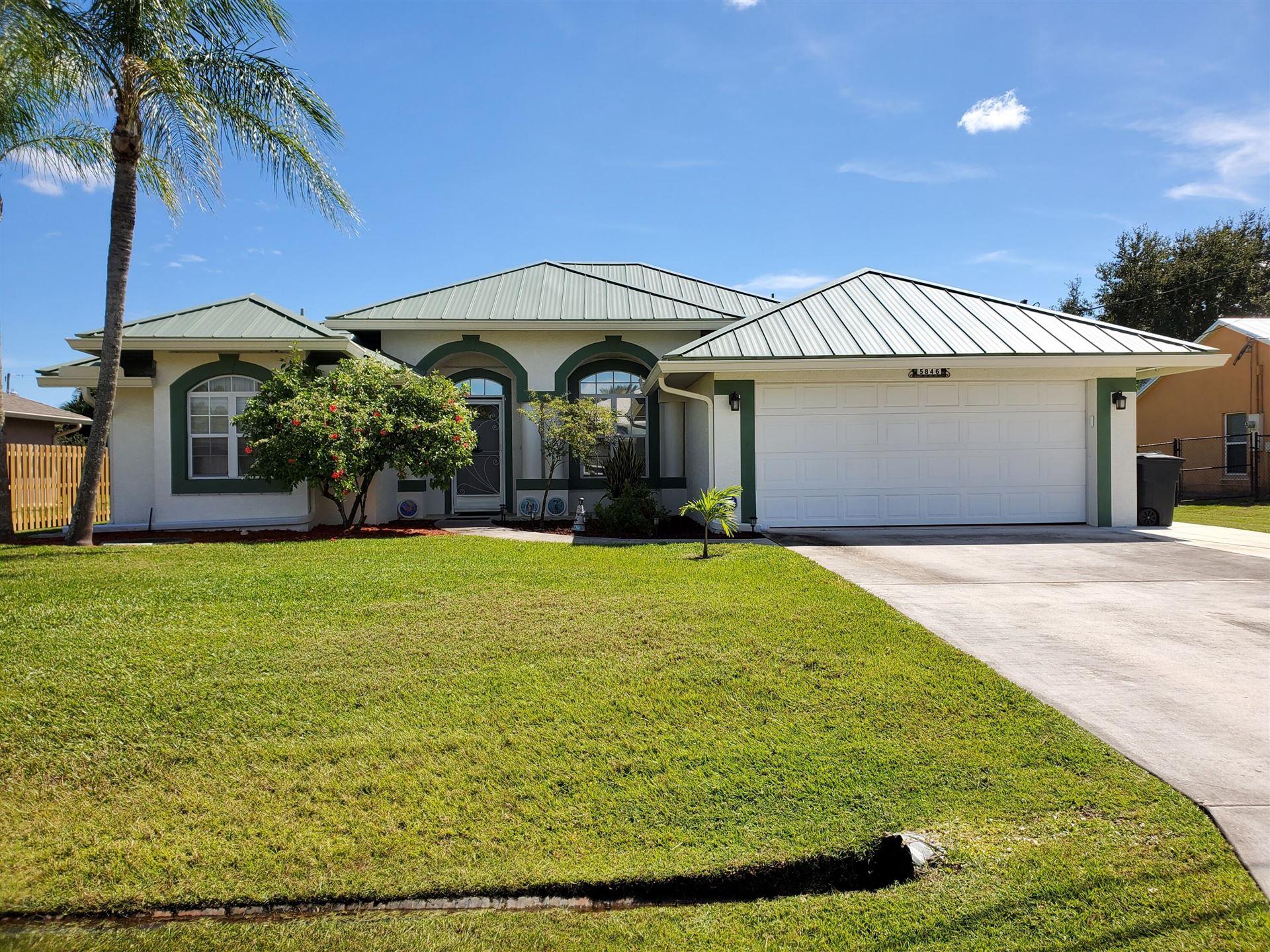5846 NW Leghorn Avenue, Port Saint Lucie, FL 34986 - #: RX-10749363