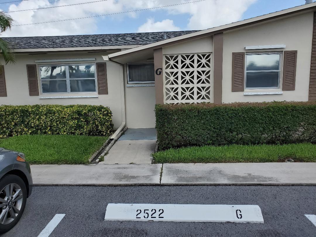 2522 Emory Drive E #G, West Palm Beach, FL 33415 - #: RX-10649364