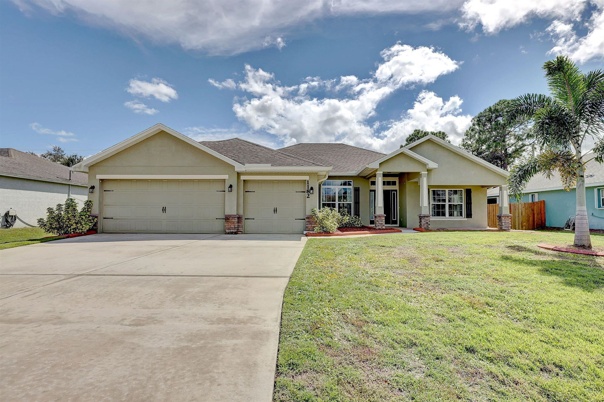 1182 SW Hamrock Avenue, Port Saint Lucie, FL 34953 - #: RX-10752365