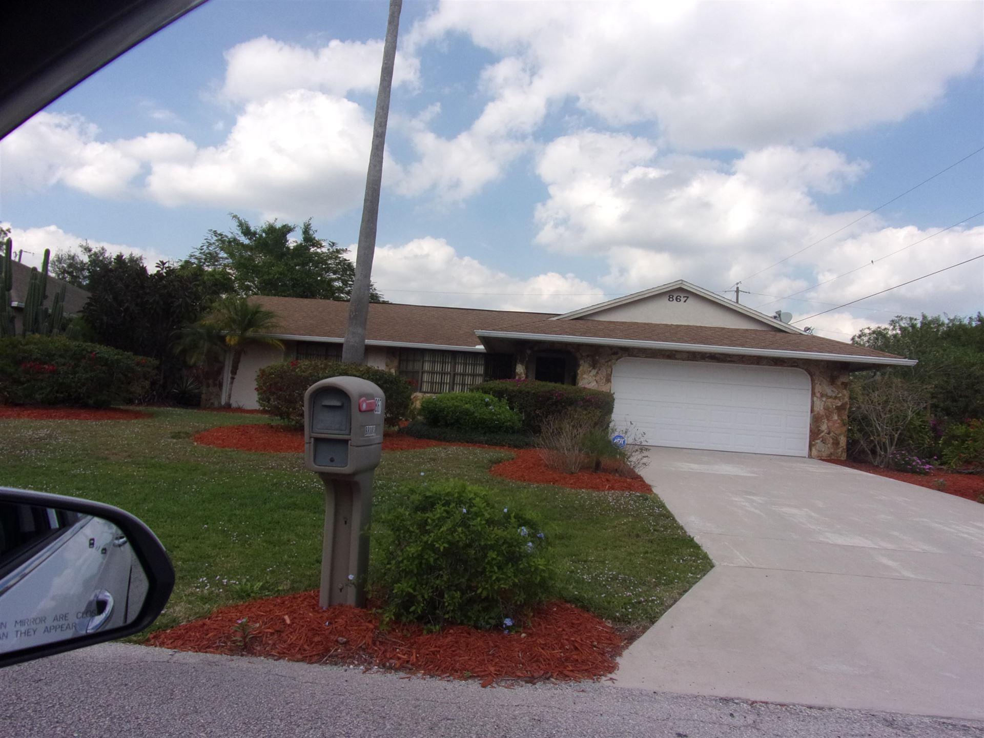 867 SW Thrift Avenue, Port Saint Lucie, FL 34953 - #: RX-10684366