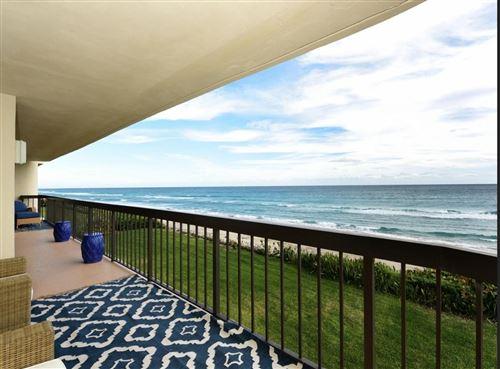 Photo of 3440 S Ocean Boulevard #302n, Palm Beach, FL 33480 (MLS # RX-10714367)
