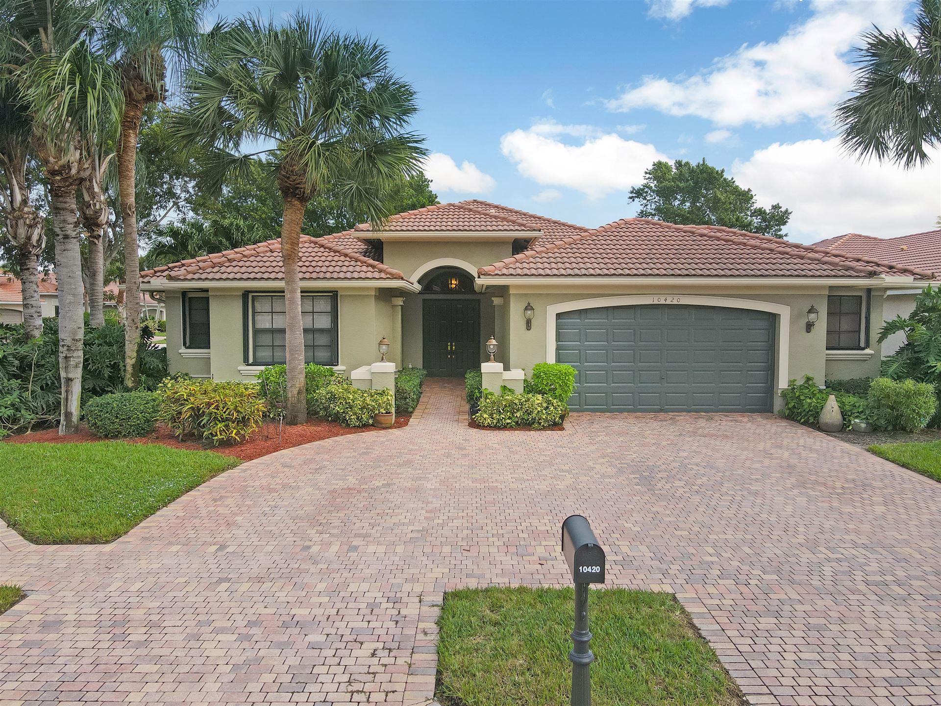 10420 Tivoli Lakes Boulevard, Boynton Beach, FL 33437 - #: RX-10671368