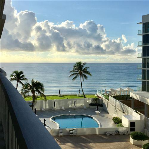 Photo of Listing MLS rx in 3570 S Ocean Boulevard #607 South Palm Beach FL 33480