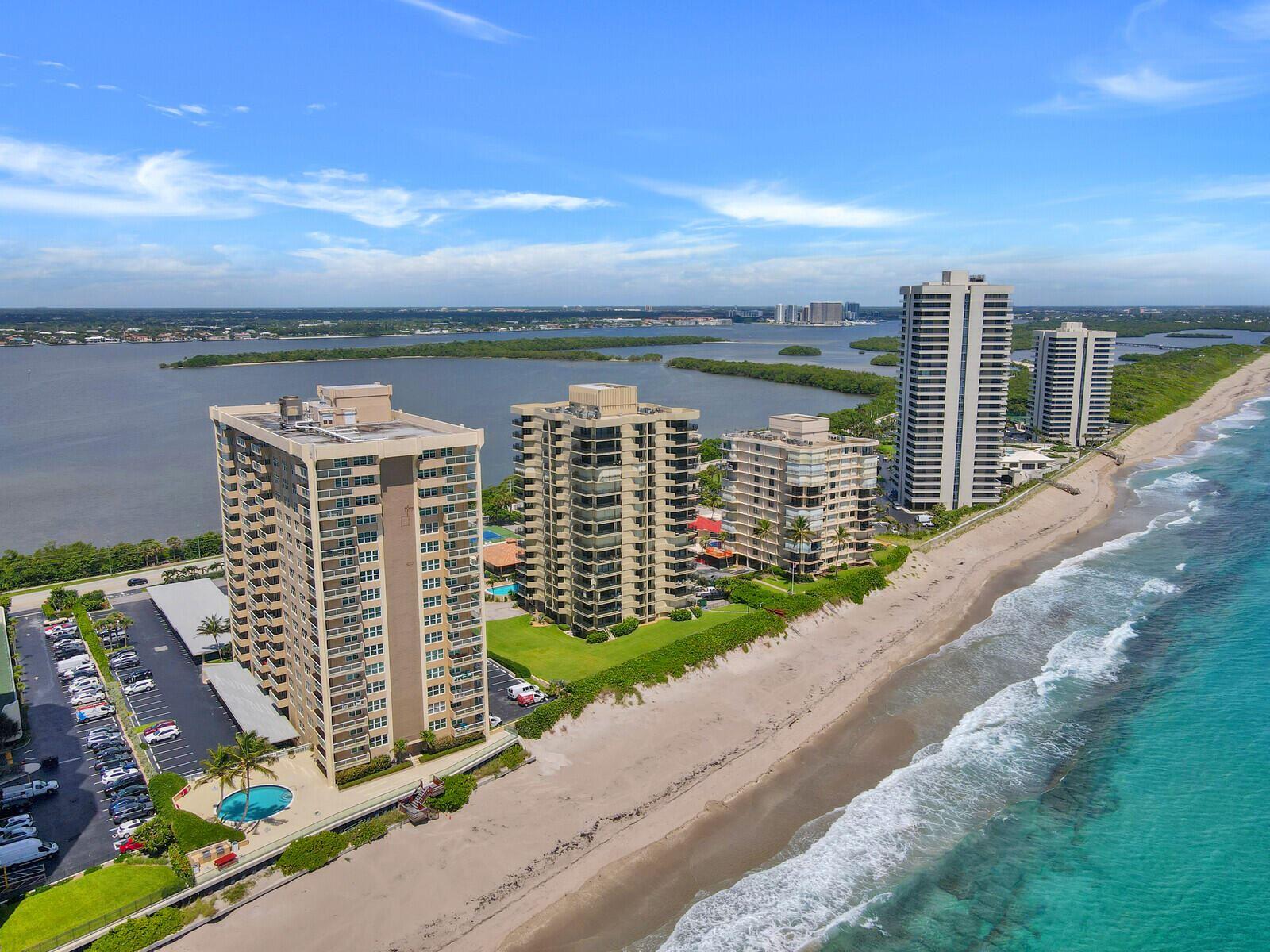 Photo for 5440 N Ocean Drive #1003, Singer Island, FL 33404 (MLS # RX-10742371)