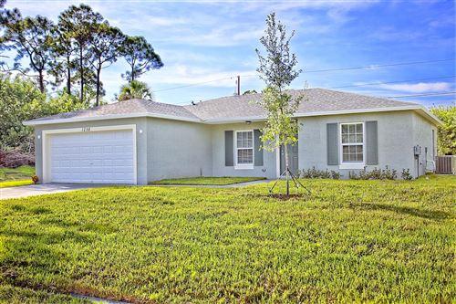 Photo of 1679 SW Cameo Boulevard, Port Saint Lucie, FL 34953 (MLS # RX-10603372)