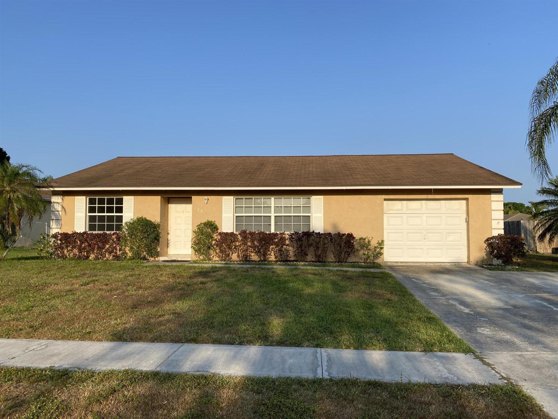 134 Cortes Avenue, Royal Palm Beach, FL 33411 - #: RX-10684372