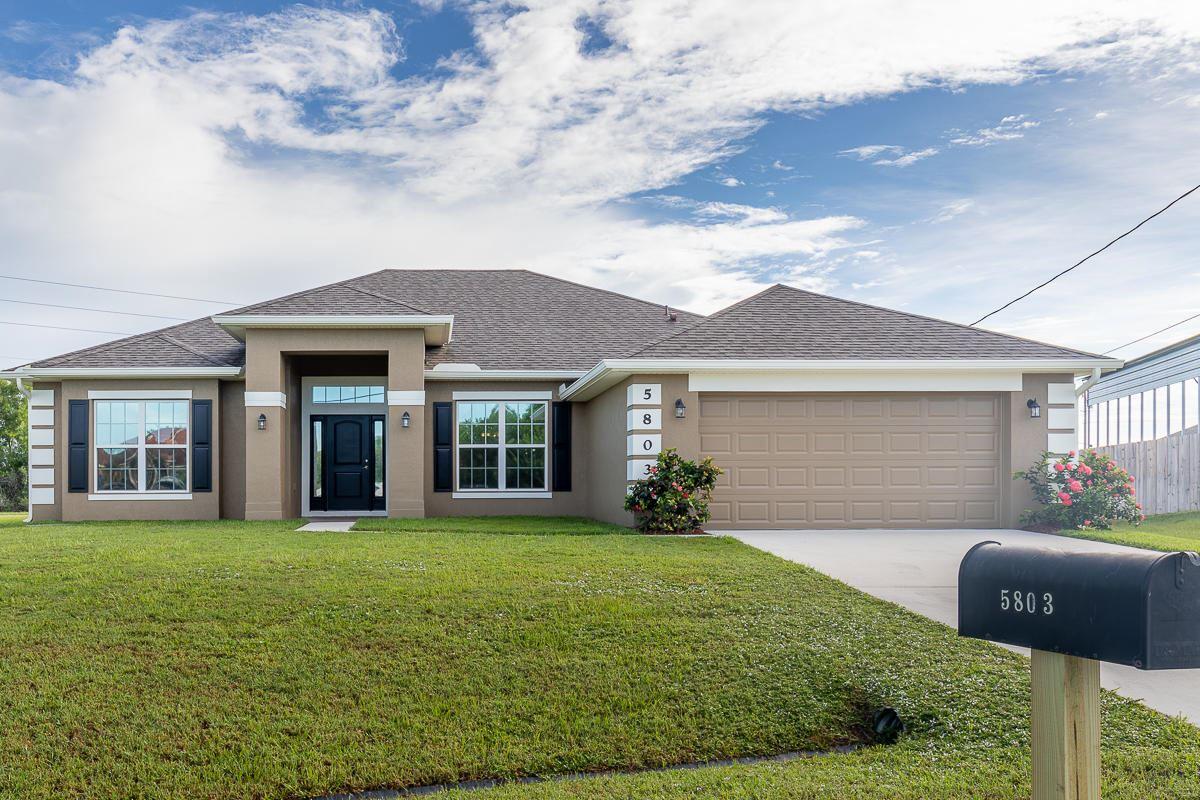 5803 NW Dooley Circle, Port Saint Lucie, FL 34986 - #: RX-10653374