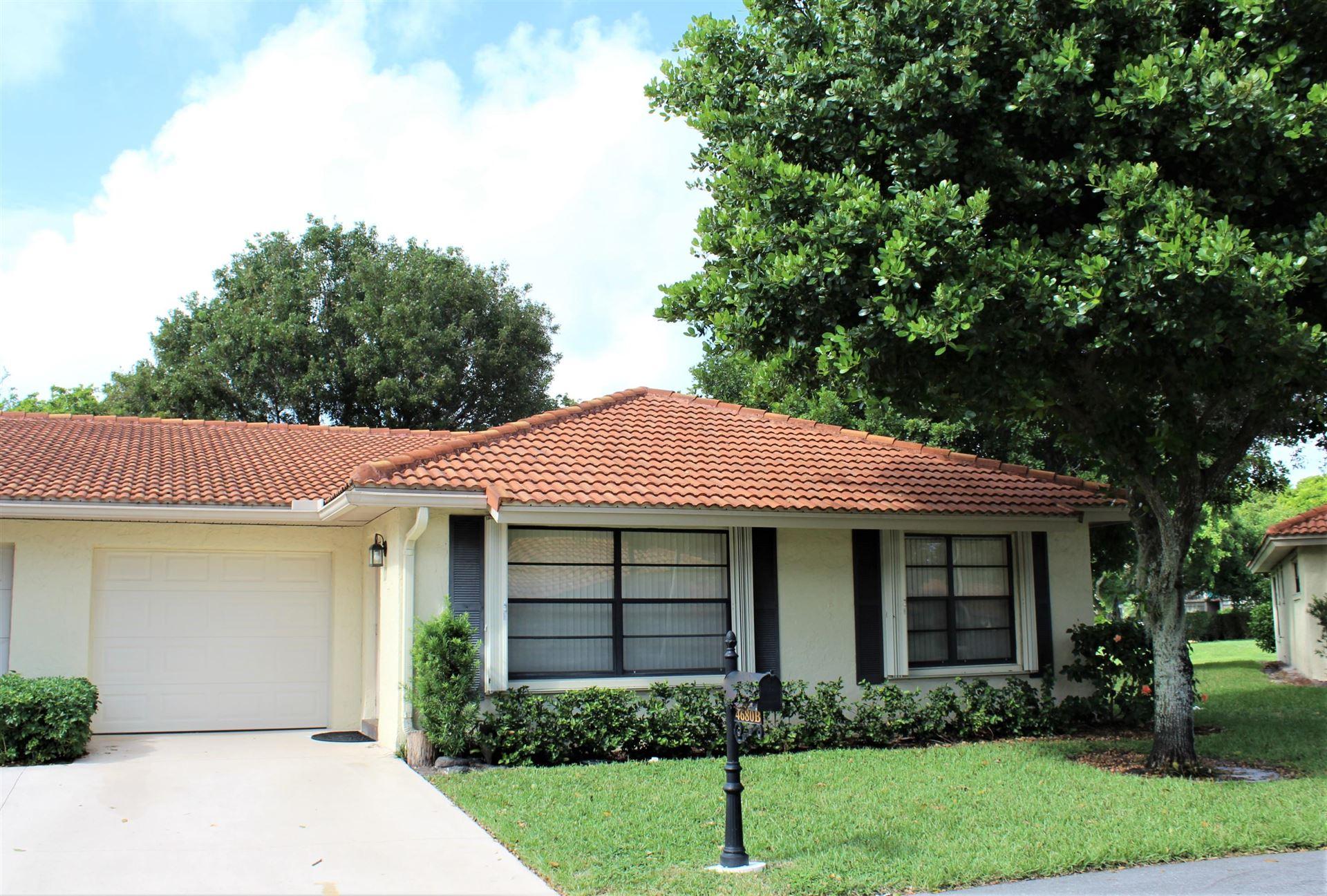 Photo of 4680 Rosewood Tree Court #B, Boynton Beach, FL 33436 (MLS # RX-10673375)