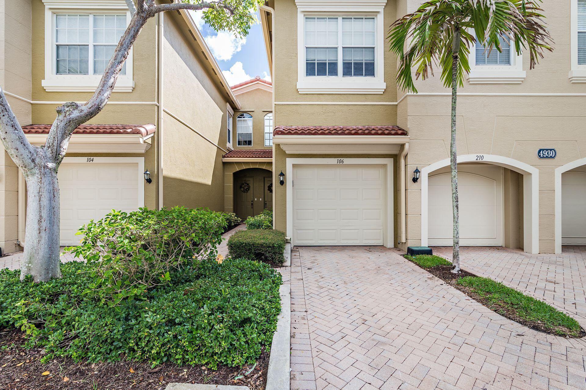 4930 Bonsai Circle #106, Palm Beach Gardens, FL 33418 - #: RX-10728376
