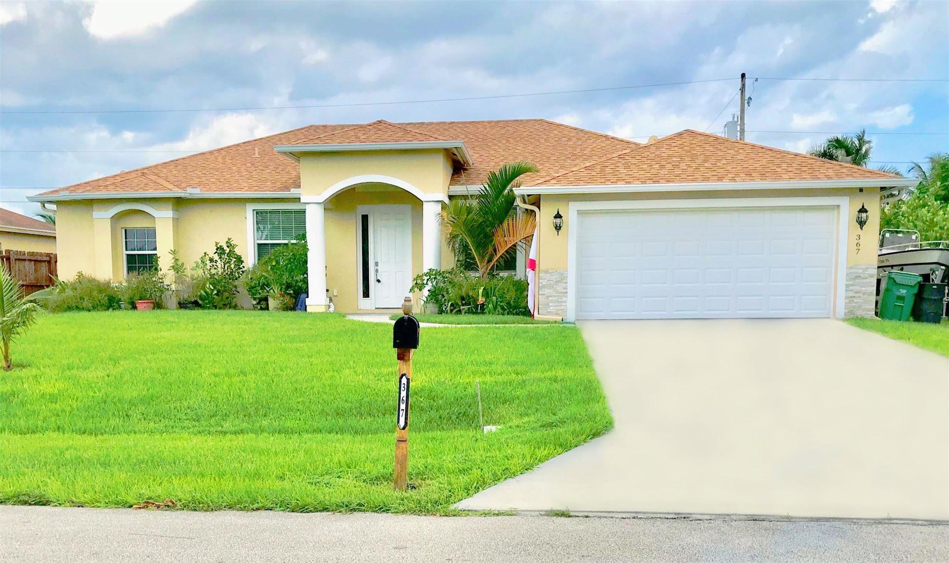 367 SW Jeanne Avenue, Port Saint Lucie, FL 34953 - #: RX-10656377