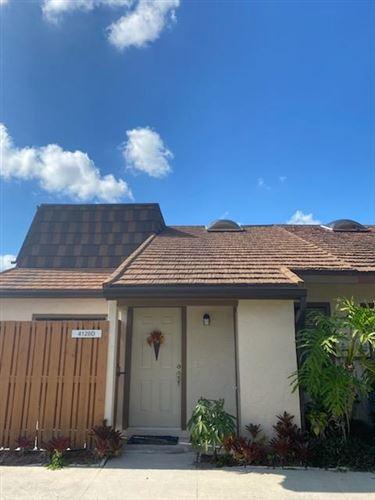Photo of 4120 Palm Bay Circle #D, West Palm Beach, FL 33406 (MLS # RX-10687379)