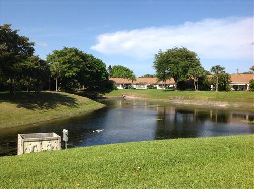 Photo of 2828 Casita Way #114-C, Delray Beach, FL 33445 (MLS # RX-10665380)
